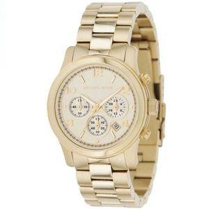 Michael Kors MK5055 Runway Chronograph Gold Watch